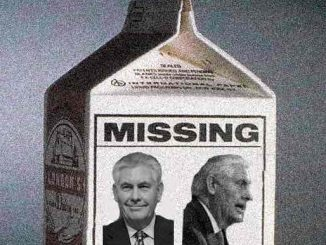 Rex Tillerson is Missing