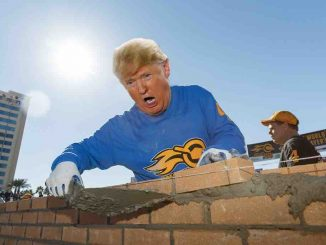 Trump Starts Border Wall Himself!