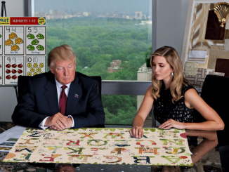 Ivanka Helps Trump in the Office.