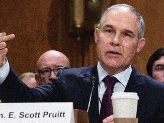 Agency Administrator, Scott Pruitt.