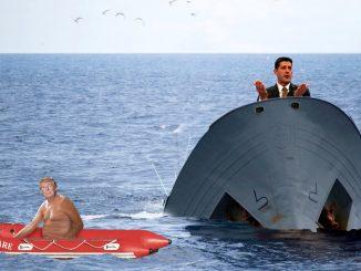 Trump Care Sinking, It's Ryan's Fault.