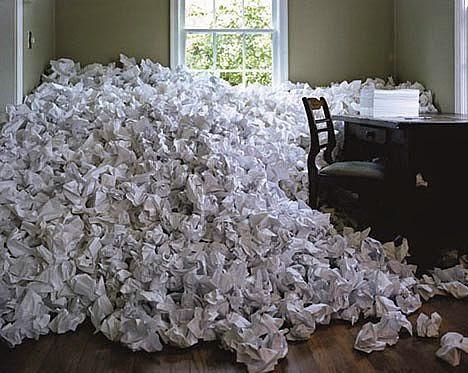 White House Creative Writing Staff Suffers from Writer's Block.